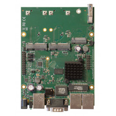 RBM33G Powerful OEM board with three Gigabit LAN and two miniPCIe slots