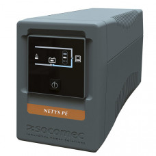 ИБП интерактивный Socomec NeTYS PE 850ВА/480Вт 230В 50/60Hz (AVR) монтаж напольный