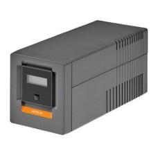 ИБП интерактивный Socomec NeTYS PE 1000ВА/600Вт 230В 50/60Hz (AVR) LCD монтаж напольный