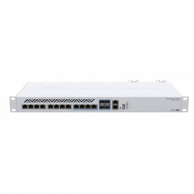 CRS312-4C+8XG-RM Switch of the future: the first MikroTik product with 10G RJ45 Ethernet ports and SFP+