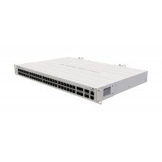 CRS354-48G-4S+2Q+RM Best price and best performance on the market – this 48 port switch will rock any setup, including 40 Gbps devices!