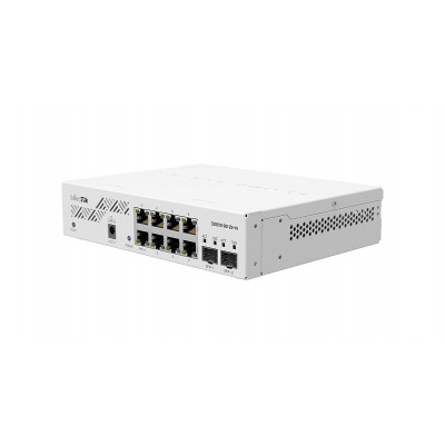 CSS610-8G-2S+IN Eight 1G Ethernet ports and two SFP+ ports for 10G fiber connectivity. Portable, powerful and extremely cost-effective – this switch is an instant classic!