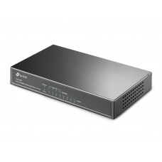 TP-Link PoE Switch, TL-SF1008P,8 10/100M RJ45 ports including 4 PoE ports,steel case