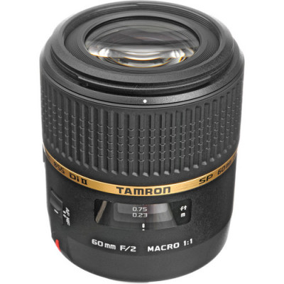 (4264) - TAMRON Lens SP AF 60mm F/2.0 Di II LD (IF) Macro 1:1 for Canon