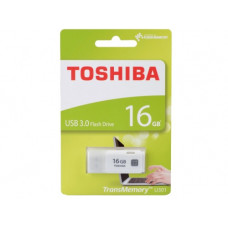 16GB USB3.0  Toshiba TransMemory U301, White, Compact and lightweight, (Read 70 MByte/s, Write 10 MByte/s)