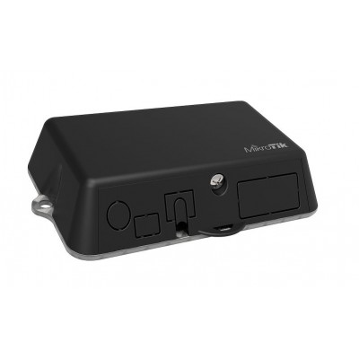 LtAP mini Small weatherproof wireless access point with LTE antennas, two SIM slots, integrated GPS and miniPCI-e slot