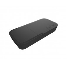 wAP BE, Small weatherproof wireless access point for mounting on a ceiling, wall or pole. In black