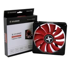 XPF140.R.PWM (XF051) 140mm Case Fan - XILENCE XPF140.R.PWM Fan, Performance C, 140x140x25mm, 700rpm, <30dBa, 62.05CFM, hydro bearing, 4Pin with PWM,  Black/Red