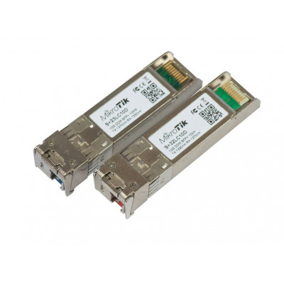 (S+2332LC10D) - S+2332LC10D pair of SFP+ (10Gbit) modules, 10km, for single optical cable