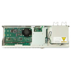 RB1100AHx4 Dude Edition Powerful 1U rackmount router with 13x Gigabit Ethernet ports, 60GB M.2 drive for Dude database