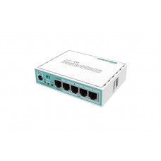 hEX 5x Gigabit Ethernet, Dual Core 880MHz CPU, 256MB RAM, USB, microSD, RouterOS L4