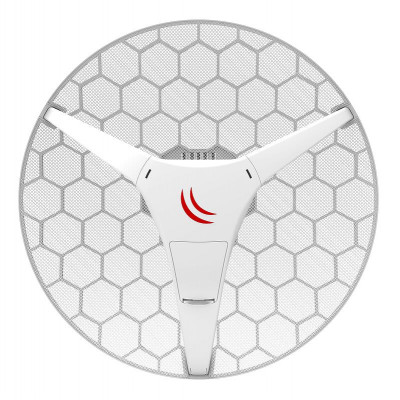 (RBLHG-5HPnD) - LHG HP5 Dual chain High Power 24.5dBi 5GHz CPE/Point-to-Point Integrated Antenna