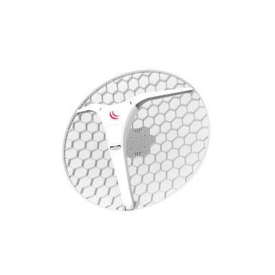 (RBLHG-5HPnD-XL) - LHG XL HP5 Dual chain eXtra Large High Power 27dBi 5GHz CPE/Point-to-Point Integrated Antenna
