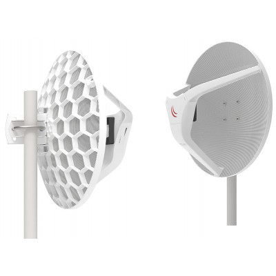 (RBLHGG-60adkit) - Wireless Wire Dish 2 Gb/s aggregate link up to 1500m+ without cables!