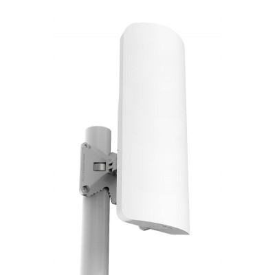 (RB921GS-5HPacD-15S) - mANTBox 15s 5GHz 120 degree 15dBi dual polarization sector Integrated antenna with 720Mhz CPU, 128MB RAM, SFP, PSU and PoE