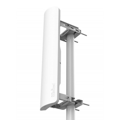 (RB921GS-5HPacD-19S) - mANTBox 19s 5GHz 120 degree 19dBi dual polarization sector Integrated antenna with 720Mhz CPU, 128MB RAM, SFP, PSU and PoE