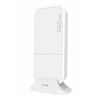wAP 60G AP, 60 GHz Base Station with Phase array 60° beamforming Integrated antenna, 716 Mhz CPU, 256 MB RAM, PSU and PoE, RouterOS L4